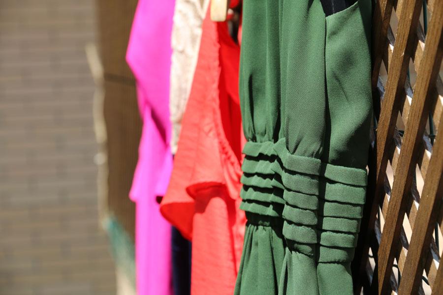 Cómo planchar un vestido de gasa
