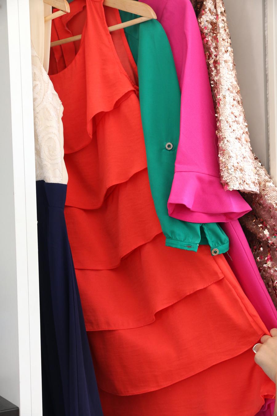 planchar vestidos de gasa