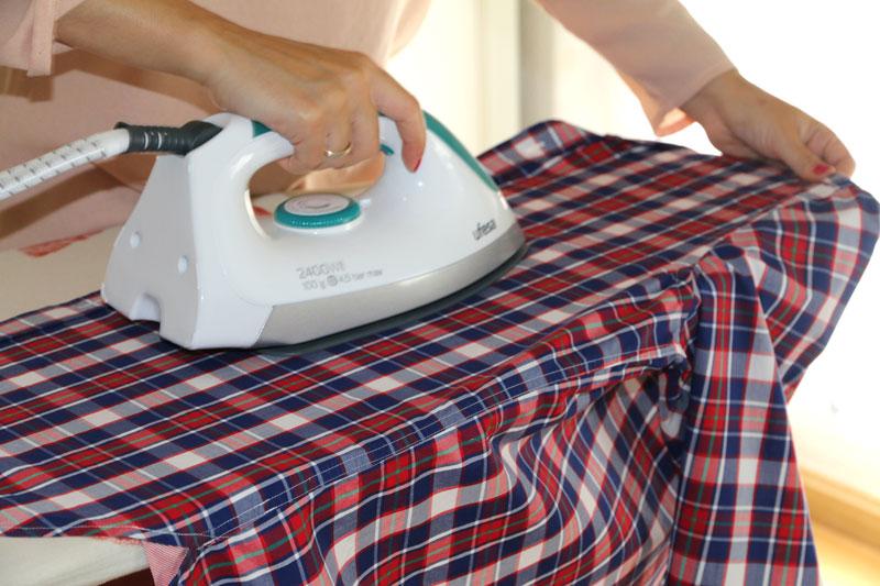 Paso a paso para planchar camisas
