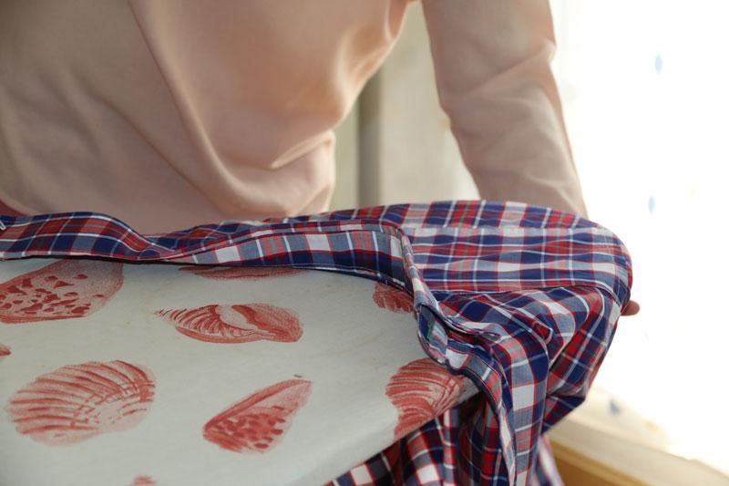 ¿Cómo planchar una camisa de hombre?
