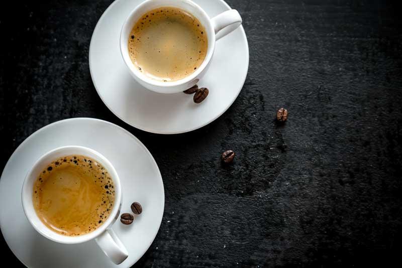 La forma de las tazas influye en el sabor del café