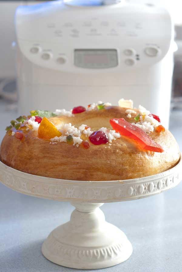 Hacer Roscón de Reyes con la panificadora