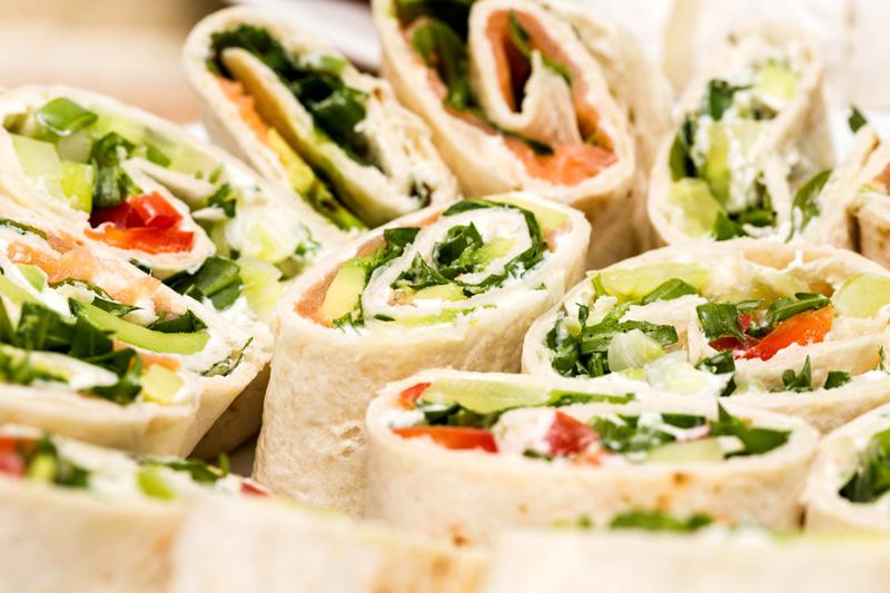 Comida facil para llevar de picnic