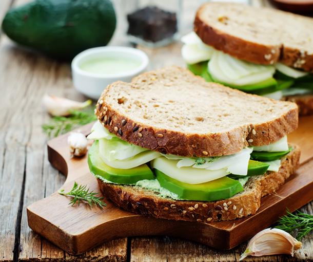 receta para sandwichera
