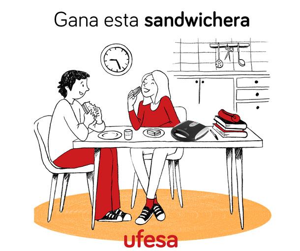 concurso ufesa sandwichera